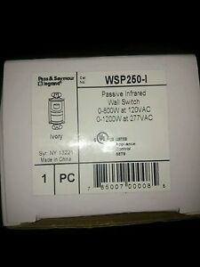 Wsp 250 i Pass Seymour Legrand Ivory Passive Infrared Wall Switch Device