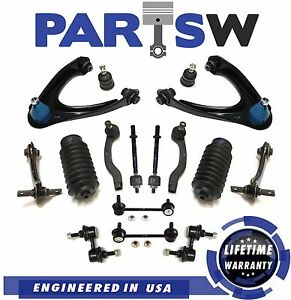 22 Pc Suspension Kit For Honda Cr V 1997 2001 Front Rear Control Arms Sway Bars