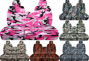 Cc Camouflage 40 20 40 Car Seat Cover Made To Fit Ram Trucks 2011 2017 Choose