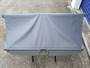 05 10 Jeep Grand Cherokee Cargo Cover Privacy Shade Grey Gray Sunshade Rear