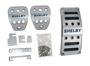 2005 2014 Ford Mustang Shelby Gt Gt500 Billet Gas Brake Clutch Pedal Covers