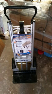 Lot Of 8 Cosco 3 in 1 Max Hand Truck assisted Hand Truck cart W Flat free Wheels