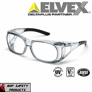 Elvex Sg 37c Ovr Specs Ii Shooting safety Over the spectacle Glasses Ansi Z87 1