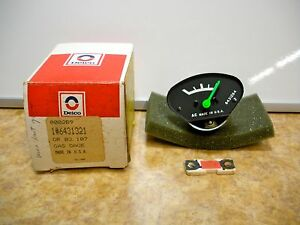 Acdelco 6431321 Fuel Gas Gauge Nos Vintage Made In Usa Swap With Auto Extra