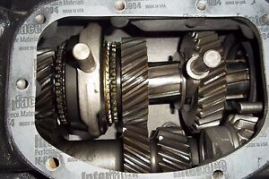 T85 3 Speed 2 49 Manual Transmission W R11 Over Drive Rebuilt 1 Year Warranty