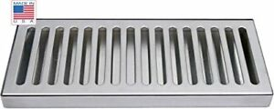 12 X 5 Ss Draft Beer Drip Tray Kegerator Countertop Surface Mount