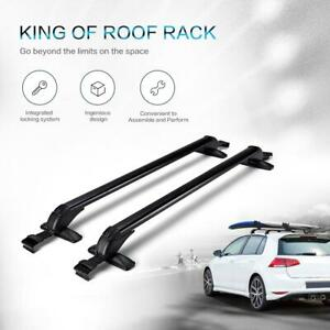 2x Universal Roof Rack Cross Bars Luggage Carrier Rubber Gasket For 4dr Car
