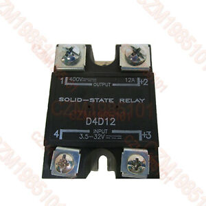 Solid State Relay Ssr Input 3 5 32vdc Output 400vdc 12a Replace Crydom D4d12