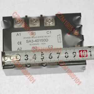 Three Phase Solid State Relay Sa3 40150d Ac Ssr 3 32vdc 40 530vac 150a Turn on