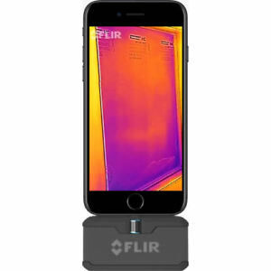 Flir One Pro Thermal Camera Attachment For Ios 160 X 120 Resolution