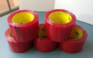 3m Scotch Box Sealing Package Tape Red Packing Tape Shipping Supplies