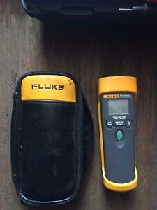 Fluke 65 Infrared Thermometer With Case And Instructions