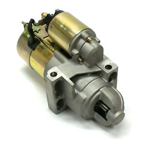 Chevy Sbc 350 Bbc 454 11 168t Offset High Torque Starter Motor Black