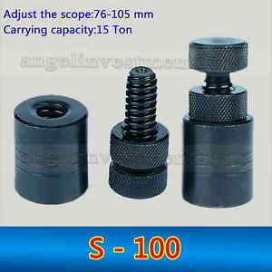 1pc Heavy Duty Cnc Manual Mold Screw Jack S 100 Height Range 76 105 Mm