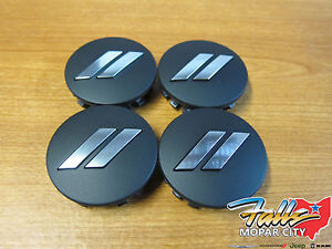11 2019 Dodge Challenger Charger Dodge Logo Black Center Wheel Cap Set Of 4 Oem