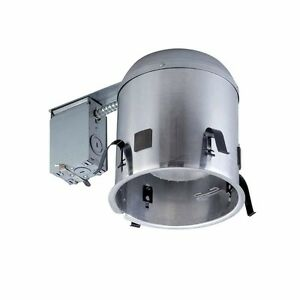 Recessed Lighting Cans Airtight Housing 6 Pack Remodel Construction Ceiling