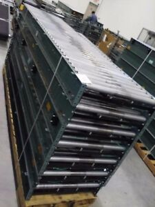 Hytrol 30 Bdlr Belt Driven Live Roller Conveyor Abez 95 Ft Complete Works