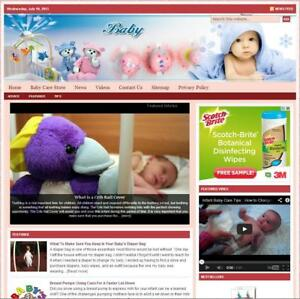 baby Care Turnkey Website For Sale turnkeypages
