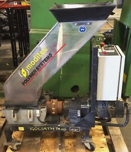 3 Hp moditec Goliath G Plus 2 Low speed Granulator grinder Shredder