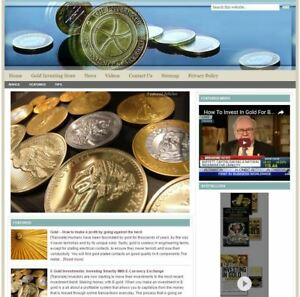 gold Investing Turnkey Website For Sale turnkeypages