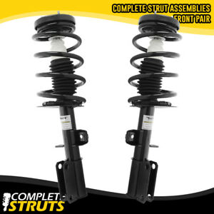 00 06 Bmw X5 Front Left Right Complete Strut Coil Spring Assemblies Pair
