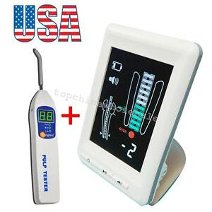 Us Stock Dental Endodontic Apex Locator Finder Root Canal Color Lcd pulp Tester