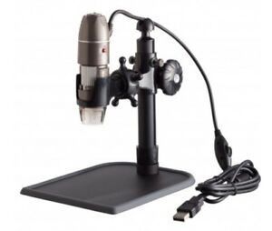 Usb Digital Microscope 5x 500x Zoom Stand For Pc Or Mac