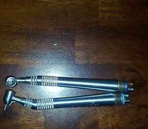 Dental Handpiece midwest Quiet Air Lever Lot Of 2