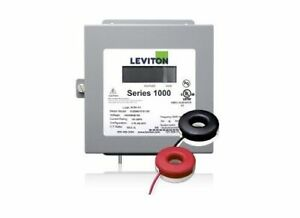 Leviton 1k240 2sw Indoor 120 240v Single Phase Kwh Meter Kit 200a 2 Solid