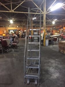 Ega Products 7 Step Rolling Ladder Slightly Used