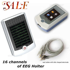 16 Channels Dynamic Eeg System 24 Hours Record Box analysis Software Cms4100