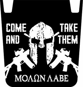Wrangler Jk Molon Labe Hood Graphic Decal 2nd Amendment Tj Yj Jk Jeep Parts