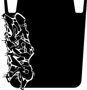 Jeep Wrangler Jk Jeep Graffiti Hood Graphic Decal Tj Yj Jk Jeep Parts
