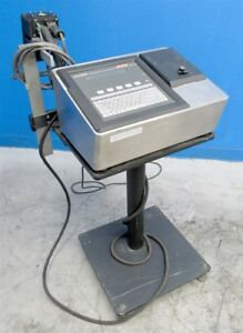 Markem 962 Touch Dry Jet Printer Hot Stamp Coder With Stand