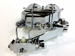 Gm Corvette Chevy Brake Master Cylinder Proportioning Valve Power Brakes Kit