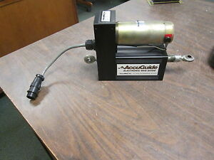 Accuweb Accuguide Linear Actuator Assembly Mme 1 7300 01 Servo Motor Mtr 3091