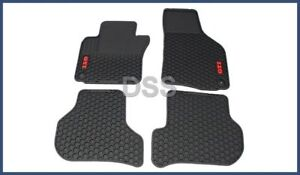 Genuine Volkswagen Monster Gti Rubber All Weather Floor Mats 1k1061550041