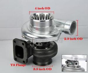 Gt35 Gt3582 Anti surge Turbo Turbocharger T3 Flange V band A r 70 82 600 Hp