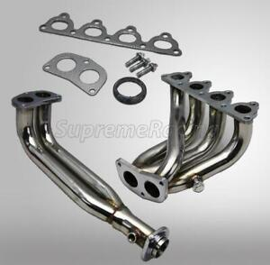 4 2 1 Stainless Steel Exhaust Header For Honda Civic Sohc D15 d16 D16y7 D16y8
