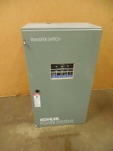 Kohler Kdt acta 0100s 100a Amp Automatic Emergency Transfer Switch 208v 3ph