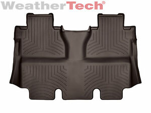Weathertech Floorliner For Toyota Tundra Crewmax 2014 2019 2nd Row Cocoa