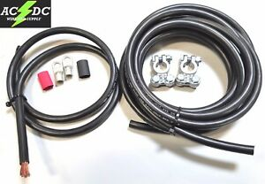 Top Post Battery Relocation Kit 15 3 2 Gauge 100 Sgt Copper Cables
