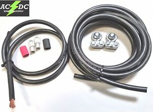 Side Post Battery Relocation Kit 15 3 2 Gauge 100 Sgt Copper Cables