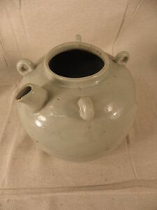 Asian Porcelain Wine Pot