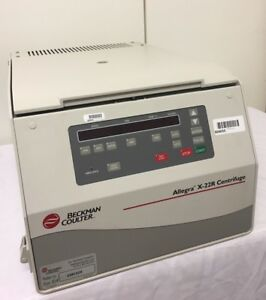 Beckman Coulter Allegra X 22r Refrigerated Centrifuge With Rotor