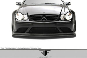 Aero Function Mercedes Clk Amg Black Series W209 Carbon Af 1 Front Add on S