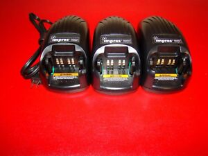 One Motorola Impres Adaptive Battery Charger Wpln4114ar Xts5000 Xts3000 Xts2500