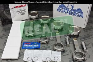 Wiseco Hd Pistons Eagle Rods Lancer Evo X 4b11 4b11t 87mm 9 4 1