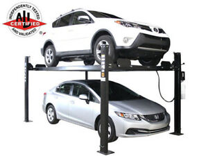 Atlas Apex 8 Ali Certified Hobbyist 8 000 Lb Capacity 4 Post Parking Car Lift