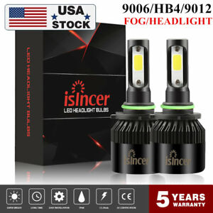9006 Led Headlight Cree Kit Hb4 9145 1280w 6000k 192000lm Fog Bulbs Pair Us Ll